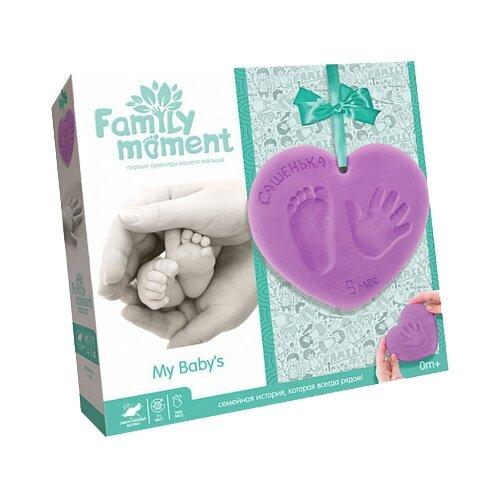 Купить Family Moment Набор для изготовления слепков Первые сувениры вашего малыша Универсальный, Гипс