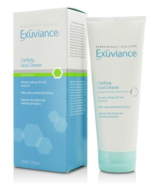 exuviance face wash
