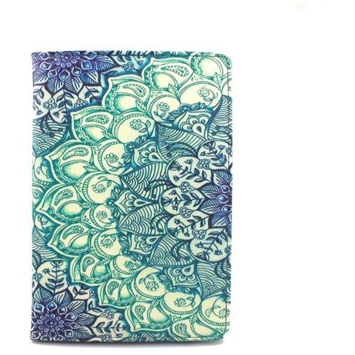 Чехол-обложка MyPads для электронной книги с диагональю 6 дюймов для Pocketbook/ Amazon Kindle/ Kobo/ Onyx/ Digma/ Qumo/ Texet с тематикой Эклектические Узоры
