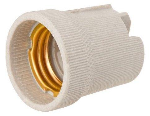 Купить Патрон керамический, Е27 Юпитер (JP7701-01) (ЮПИТЕР) по низкой цене с доставкой из Яндекс.Маркета (бывший Беру)