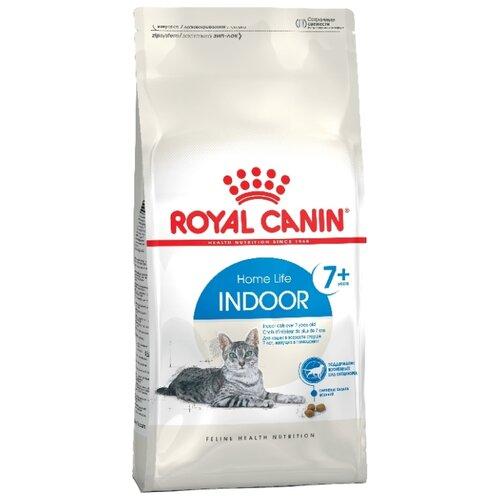 Фото - Сухой корм для пожилых кошек Royal Canin 7+, для живущих в помещении, профилактика МКБ 400 г сухой корм для кошек royal canin urinary s o для лечения мкб 400 г