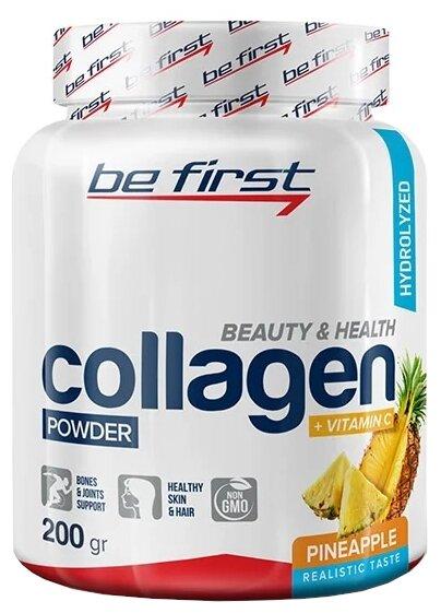 Препарат для укрепления связок и суставов Be First Collagen + Vitamin C powder (200 г)