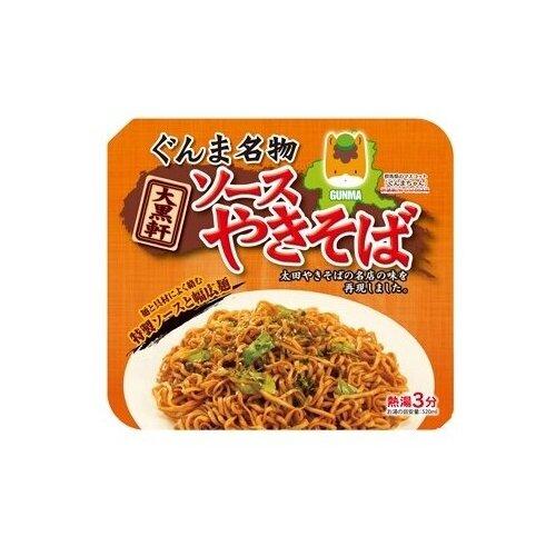 Daikoku лапша быстрого приготовления Якисоба с овощным соусом Gunma 125 г