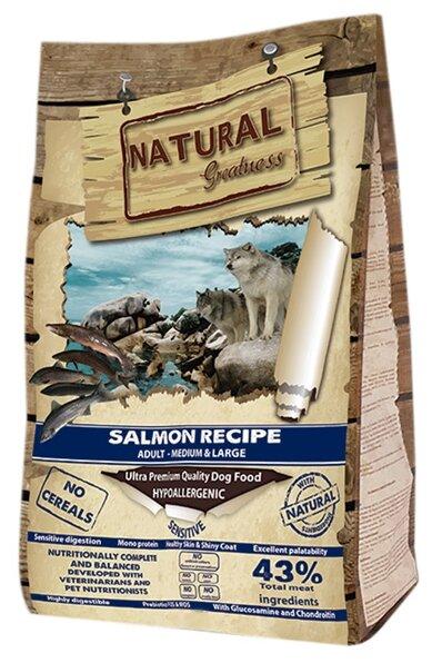 Корм для собак NATURAL Greatness лосось с картофелем