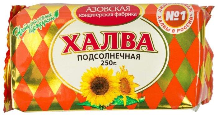 Халва Азовская кондитерская фабрика Подсолнечная 250 г