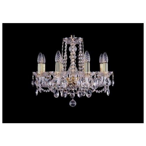 Люстра Bohemia Ivele Crystal 1402/8/160/G, E14, 320 Вт