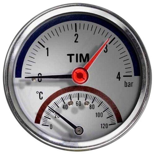 Аналоговый манометр Tim Y-80T-4bar