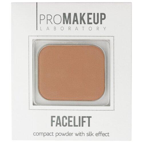 Купить ProMAKEUP Laboratory пудра компактная шелковая FACELIFT 02 medium