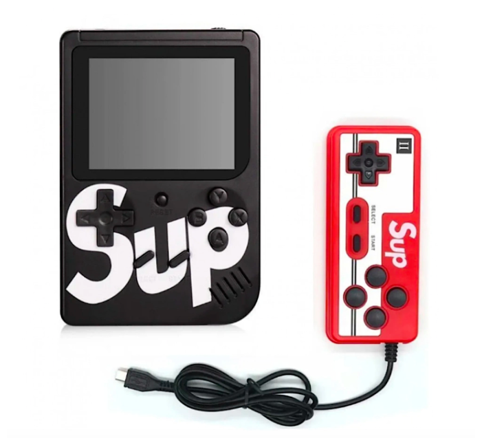 Купить Игровая приставка Sup Game Box 400 в 1 c джойстиком (Черная) по низкой цене с доставкой из Яндекс.Маркета