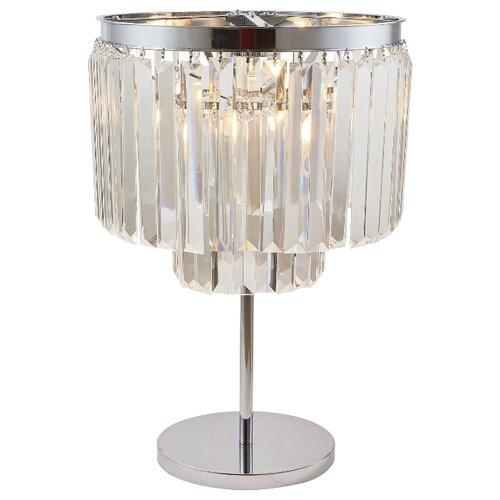 Настольная лампа Divinare Nova Chrome 3001/02 TL-4, 160 Вт