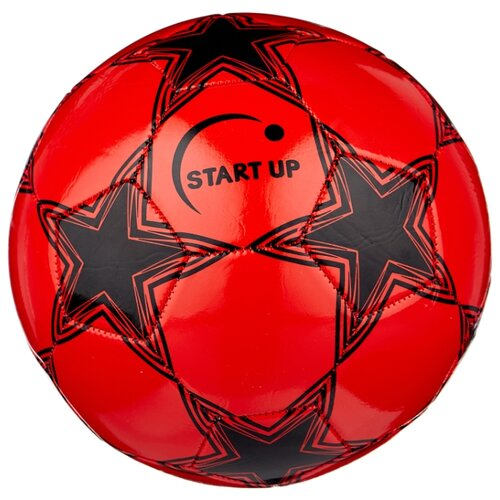 Футбольный мяч START UP E5121 красный/черный 5 цена 2017