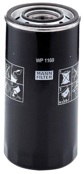 Масляный фильтр MANNFILTER WP1169