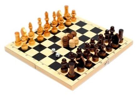 Рыжий кот Шахматы лак №3, шашки, нарды ИН-8054