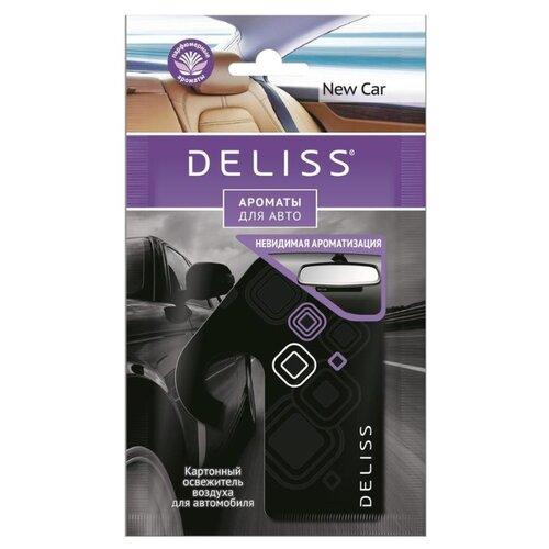 Deliss Ароматизатор для автомобиля, AUTOP006.05/01, New Car