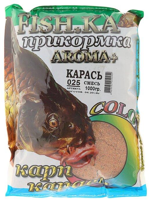 Прикормочная смесь Fish-ka Карась