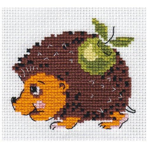 Купить Klart Набор для вышивания Ежик 8 х 7.5 см (0-001), Наборы для вышивания