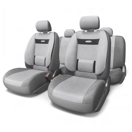 цена на Комплект чехлов AUTOPROFI COM-1105H темно-серый/светло-серый
