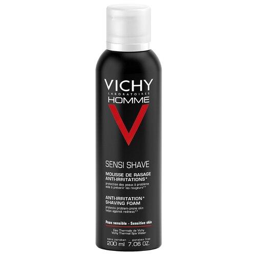Пена для бритья против раздражения кожи Vichy, 200 мл пена для бритья vichy vichy vi055lwukq71