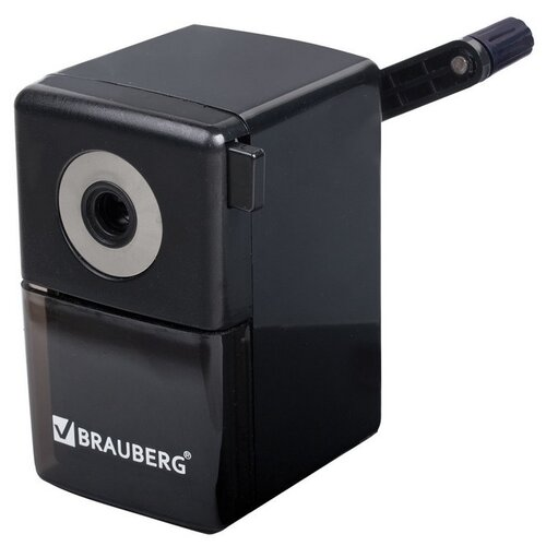 BRAUBERG Точилка BlackJack 222516 черный