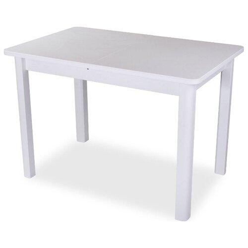 Стол кухонный Домотека Румба ПР-2 КМ 04, раскладной, ДхШ: 140 х 85 см, длина в разложенном виде: 190 см, 04/БЛ белый 04 БЛ белый по цене 17 690