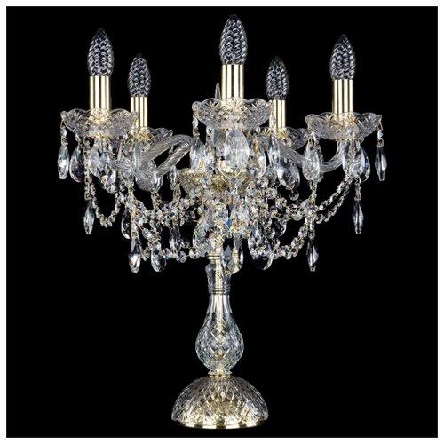 Настольная лампа Bohemia Art Classic 12.25.5.141-45.Gd.Sp, 200 Вт настольная лампа bohemia art classic 11 23 12 23 3 141 37 br dr