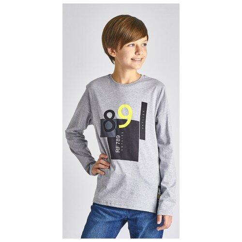 Купить Лонгслив Roxy Foxy размер 158, серый меланж, Футболки и майки