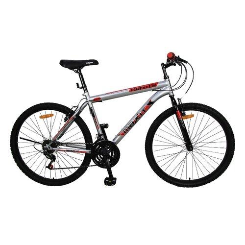 Фото - Горный (MTB) велосипед MAXIT Twister 26 (2019) серебристый 17 (требует финальной сборки) горный mtb велосипед stels miss 5000 md 26 v010 2019 бирюзовый 17 требует финальной сборки