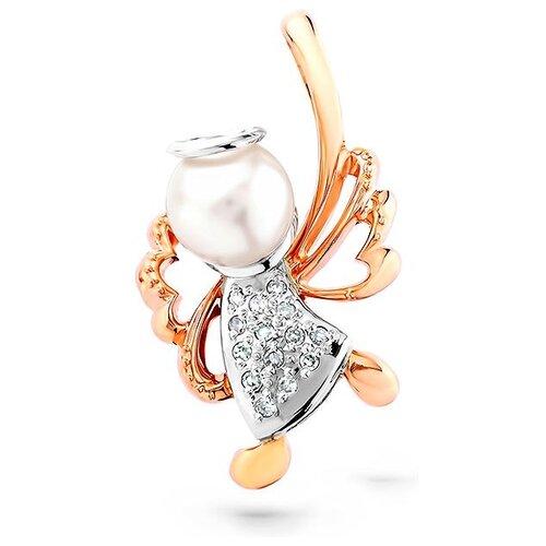 KABAROVSKY Подвеска с жемчугом и бриллиантами из красного золота 3-0038-1500