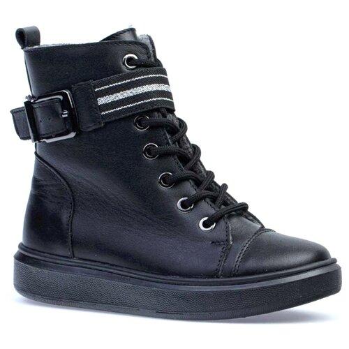 Ботинки КОТОФЕЙ размер 33, черный ботинки котофей размер 34 черный