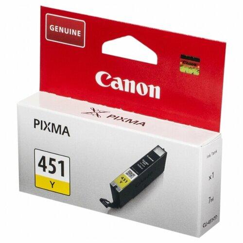 Фото - Картридж Canon CLI-451Y (6526B001) картридж струйный canon cli 8 0627b001 зеленый