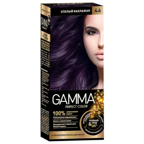 GAMMA Perfect Color краска для волос, 4.6 спелый баклажан  - Купить