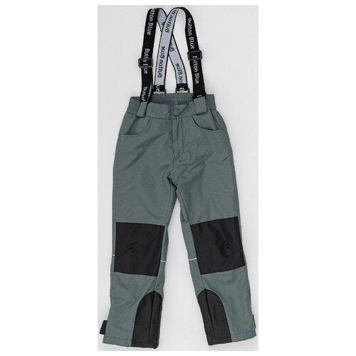 Купить Брюки Button Blue 220BBBA6401 размер 122, серый, Полукомбинезоны и брюки