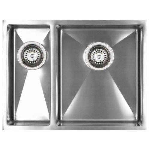 цена на Врезная кухонная мойка 57.5 см Seaman ECO Marino SMЕ-575 L SME-575DL.A нержавеющая сталь