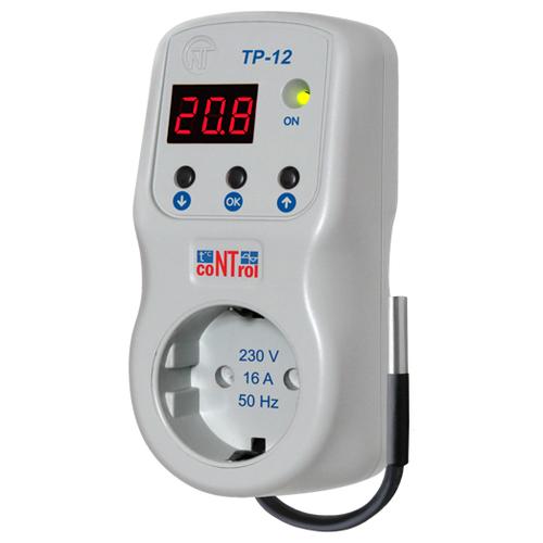 Терморегулятор Новатек-Электро ТР-12 белый