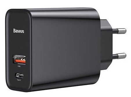 Сетевая зарядка Baseus Speed Series PPS Quick Charger, черный фото 1