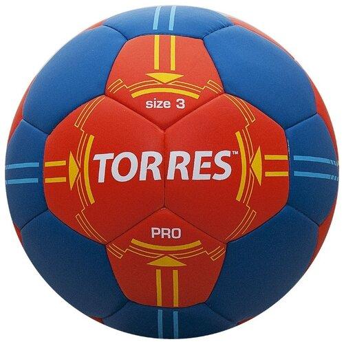Мяч для гандбола TORRES H30063 оранжевый/синий