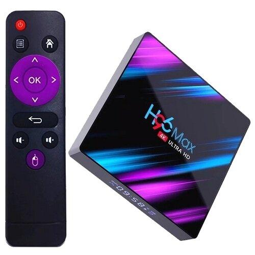ТВ-приставка DGMedia H96 Max 4/64 Gb черный
