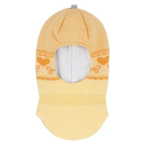 Купить Шапка-шлем Prikinder размер 46-48, желтый, Головные уборы