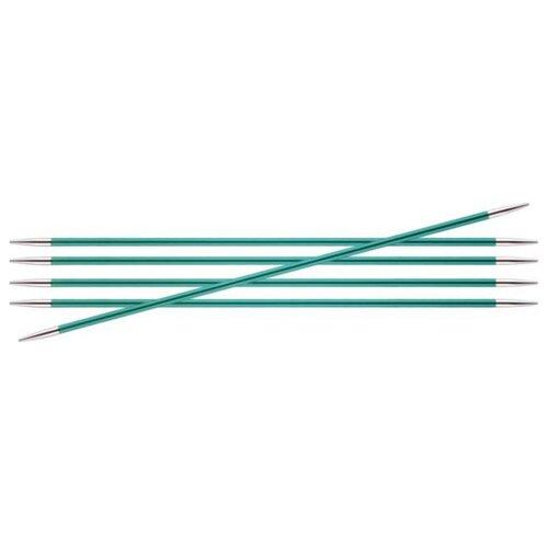 Купить Спицы Knit Pro Zing 47036, диаметр 3.2 мм, длина 20 см, изумруд