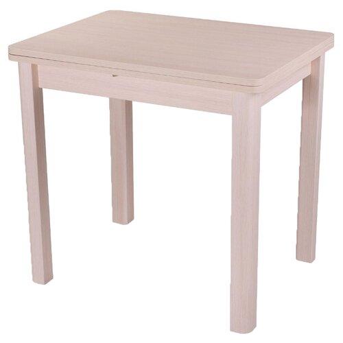 стол раскладной kingcamp bamboo table s kc3935 серый металлик 60 х 45 х 59 см Стол кухонный Домотека Дрезден М-2 04, раскладной, ДхШ: 60 х 80 см, длина в разложенном виде: 120 см, МД молочный дуб 04 МД молочный дуб