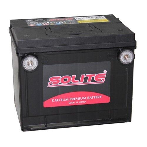 Фото - Автомобильный аккумулятор Solite CMF 75-630 аккумулятор автомобильный hyundai cmf 65ач 520a [75d23l]
