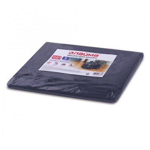Мешки для мусора Лайма 601394 240 л (5 шт.) черный