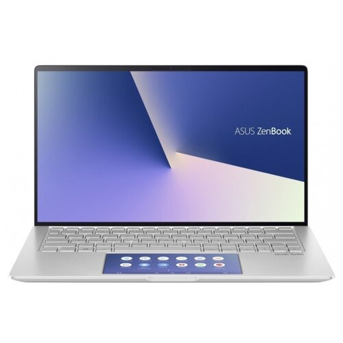 Фото - Ноутбук ASUS ZenBook 13 UX334FLC-A3230T (Intel Core i7 10510U 1800MHz/13.3/1920x1080/16GB/512GB SSD/DVD нет/NVIDIA GeForce MX250 2GB/Wi-Fi/Bluetooth/Windows 10 Home) 90NB0MW6-M05850 серебристый ноутбук asus zenbook ux333fn a3110t core i7 8565u 8gb ssd512gb nvidia geforce mx150 2gb 13 3 fhd 1920x1080 windows 10 silver wifi bt cam bag
