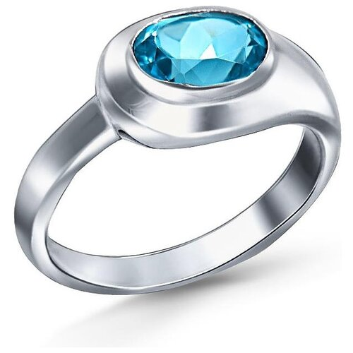 Silver WINGS Кольцо с топазами из серебра 210004-70-257, размер 17 silver wings кольцо с топазами из серебра 210047 32 54 размер 17
