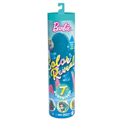 Купить Кукла-сюрприз Barbie Color Reveal (Волна 4), GTP43, Куклы и пупсы