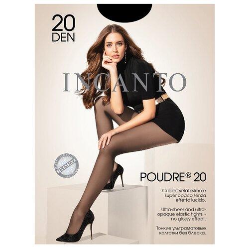 Колготки Incanto Poudre 20 den, размер 4, nero (черный) колготки incanto poudre 4 40 den черный