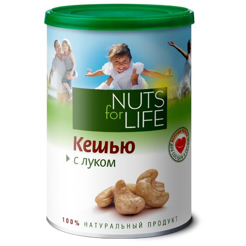 Фото - Кешью Nuts for Life обжаренный соленый с луком 200 г кешью nuts for life обжаренный