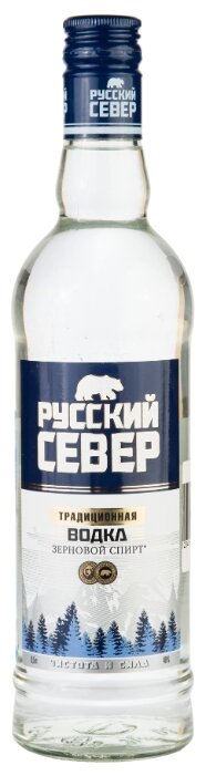 Водка Русский север традиционная, 0.5 л