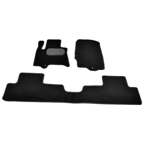 Комплект ковриков NorPlast NPL-VTe-330-510 4 шт. черный