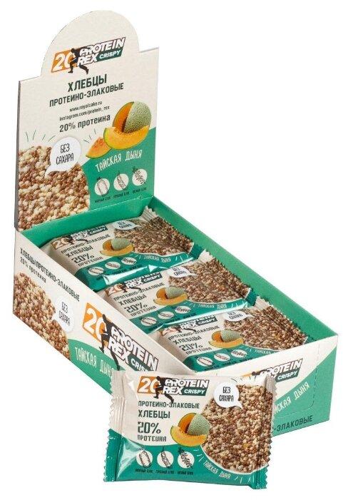 ProteinRex хлебцы Crispy 20% (55 г)(12 шт.)